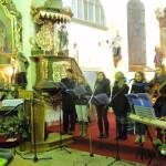 SisterBand zpívá koledy v Rynárci - vánoce 2014